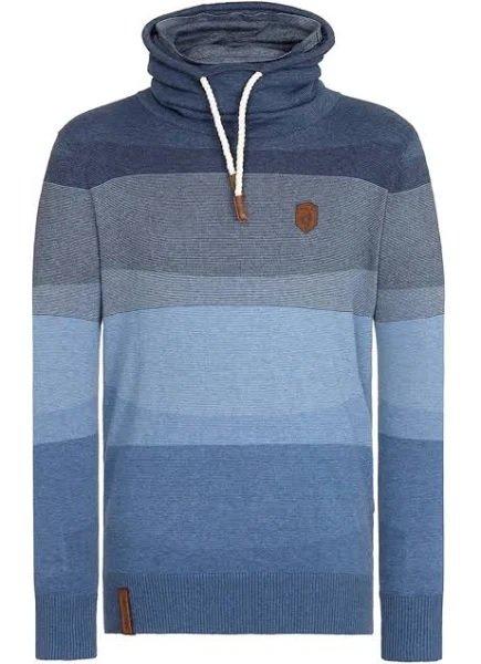 Naketano Knit Pullover in blau für 46,67€ inkl. Versand (statt 58€)