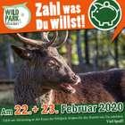 Zahl was Du willst Aktion im Wildpark Müden - Zahl für den Eintritt was du möchtest am 22. und 23. Februar!