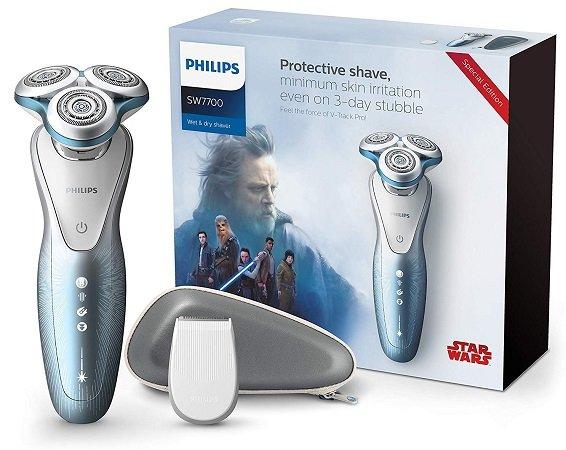 Philips SW7700/67 Nass-und Trockenrasierer Star Wars Special Edition für 77€