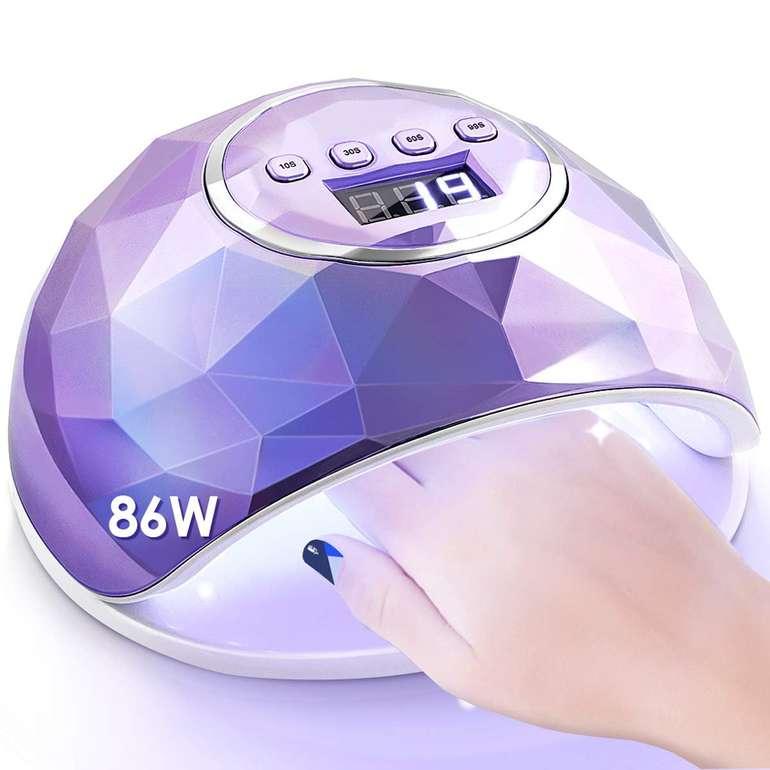 Janolia 86W UV LED Nageltrockner für 12,99€ inkl. Prime Versand (statt 23€)