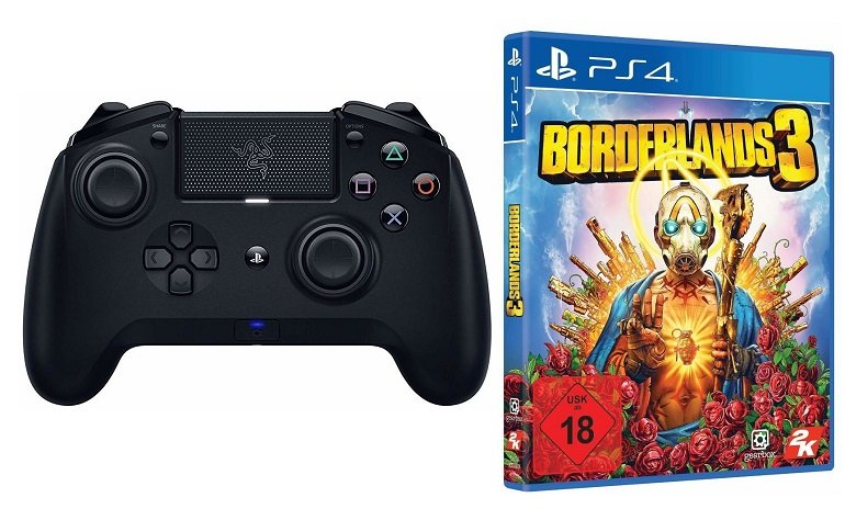 Razer Raiju Tournament Edition 2019 Controller + Borderlands 3 (PS4) für 109€ (statt 148€)