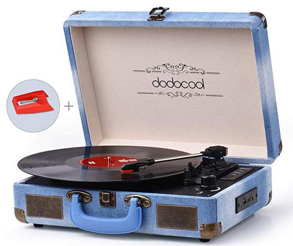 Dodocool Plattenspieler für 41,99€ inkl. Versand (statt 62€)