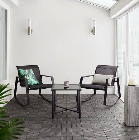 3-teiliges Gartenset Mandy (2 Stühle + Tisch) für nur 64,35€ inkl. Versand