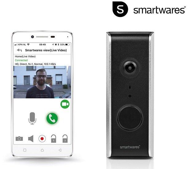 Smartwares DIC-23112 Video-Türsprechanlage für 75,90€ (statt 128€)