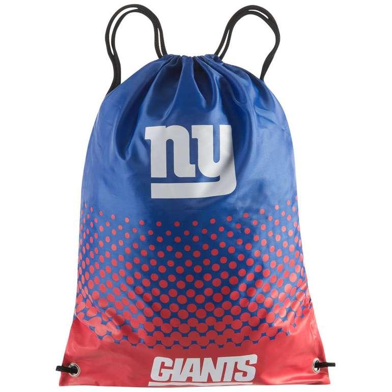NFL Gym Bags (Chicago Bears, Tempa Bay Buccaneers, Pittsburgh Steelers usw.) für 7,28€ inkl. VSK