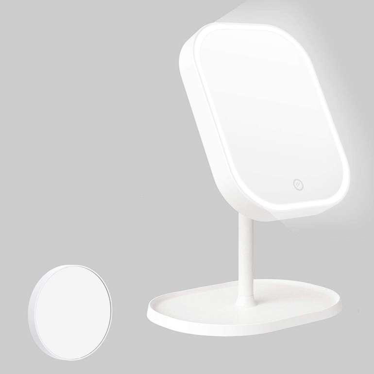 Kasimir Kosmetikspiegel reduziert, z.B. X8 mit LED Beleuchtung für 9,95€ inkl. Prime Versand