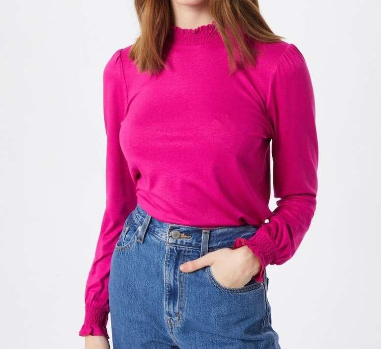 Esprit Damen Shirt in dunkelpink für 9,90€ inkl. Versand (statt 21€)