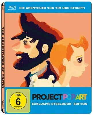 Die Abenteuer von Tim und Struppi - das Geheimnis der Einhorn (Steelbook Edition, Blu-ray) für 5,94€ inkl. VSK