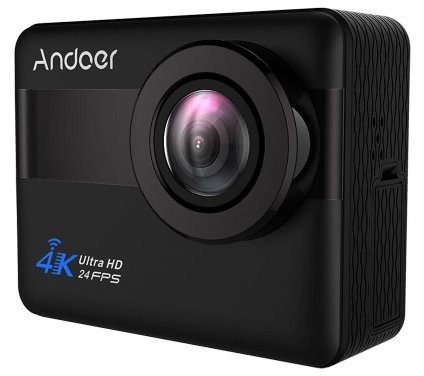 "Wasserdichte 4K WiFi Actioncam Andoer AN1 mit 2,31"" Touchscreen & 20MP zu 56,99€"