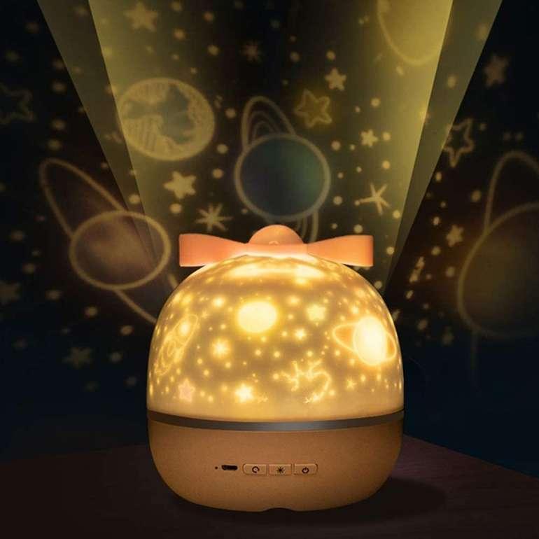 Hexup LED Projektionslampe für 16,19€ inkl. Versand (statt 18€)