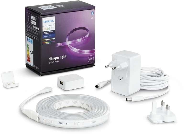 Philips Hue Lightstrip 2m Basis Bluetooth (neue Version) für 52,89€ inkl. Versand (statt 64€) - Newsletter Gutschein!