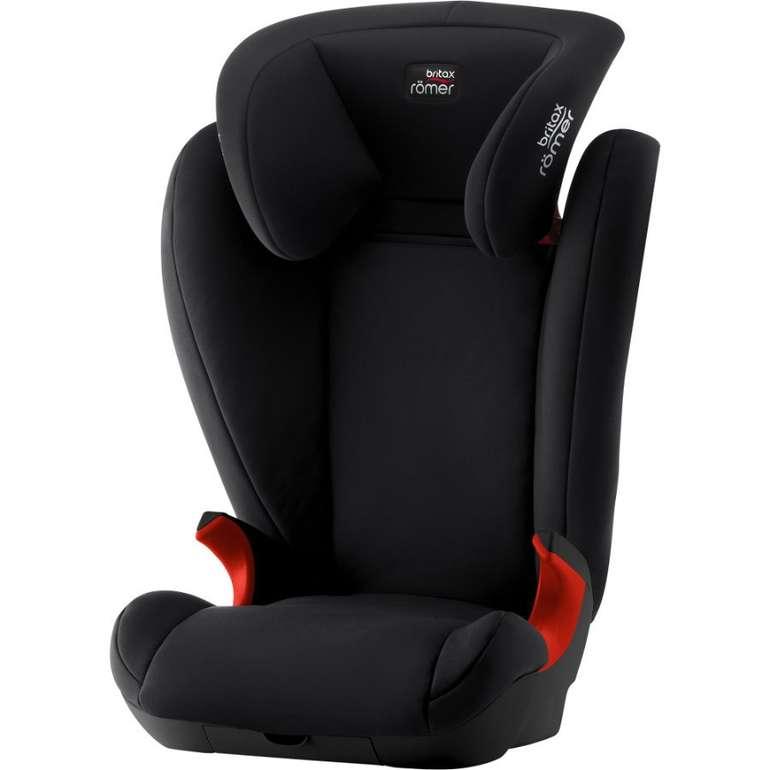 Britax Römer Kindersitz Kid II Black Series in 2 Farben für je 74,39€ inkl. Versand (statt 93€)