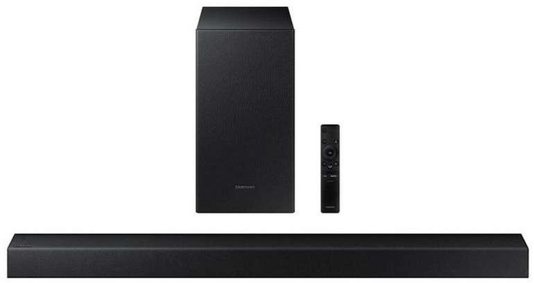 Samsung HW-T420 Essential T-Series Soundbar mit Subwoofer für 89,95€ (statt 117€)
