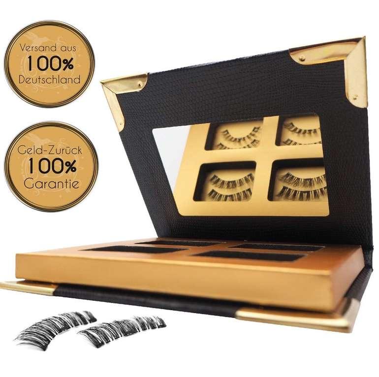 Belleza Magnet Wimpern Set (2 Paar - 8 Stück, selbstklebend) für 9,95€ (statt 30€)
