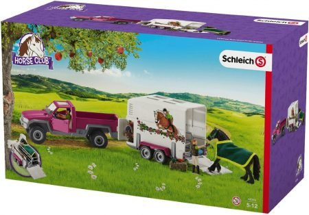 Schleich Pick-up mit Pferdeanhänger für 22,76€ (statt 31€)