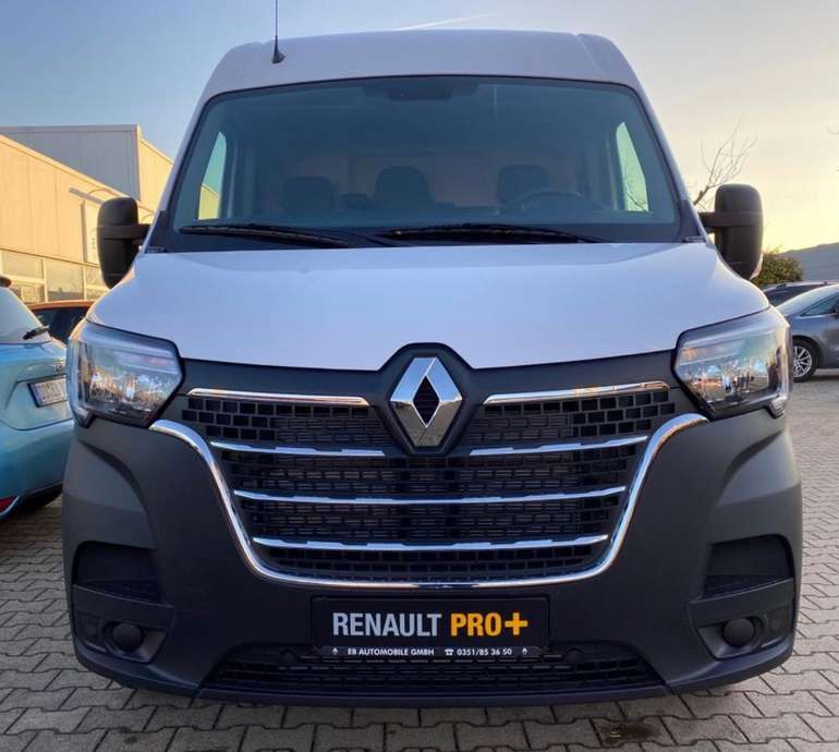 Gewerbe Leasing: Renault Master L3H2 Kastenwagen (3,5t, 135 PS) für 99€ netto mtl. (LF: 0,26)