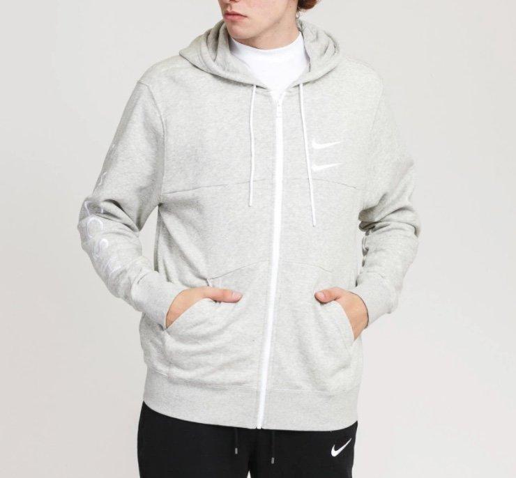 Nike Swoosh Fleece Full Zip Herren Hoodie für 39,99€ inkl. Versand (statt 52€)