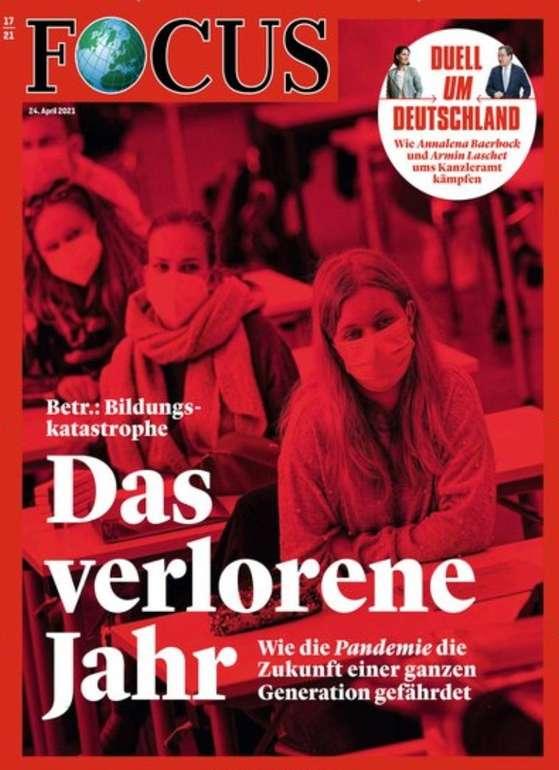 Focus Jahresabo (52 Ausgaben) für 260,20€ inkl. Versand + z.B. 220€ Douglas Gutschein