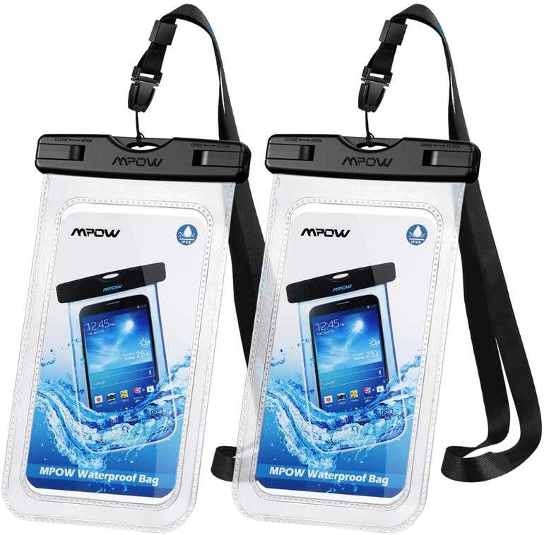 2x Mpow Wasserdichte Handyhülle bis 7 Zoll für 5,49€ inkl. Prime Versand (statt 10€)