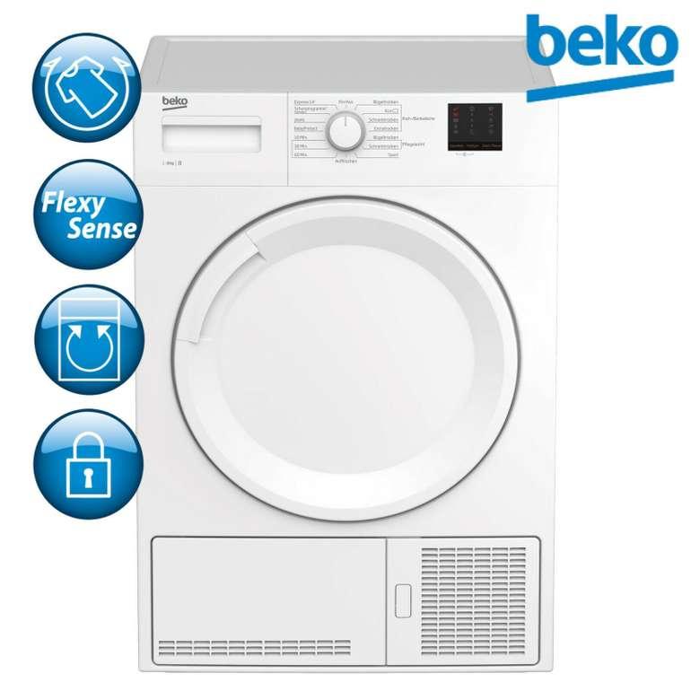 Beko DCU8230N Kondenstrockner 8kg für 279,99€ inkl. Versand (statt 334€)