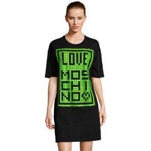 Love Moschino Sale mit bis -65% Rabatt - z.B. Damen Kleid mit Nieten für 149,99€