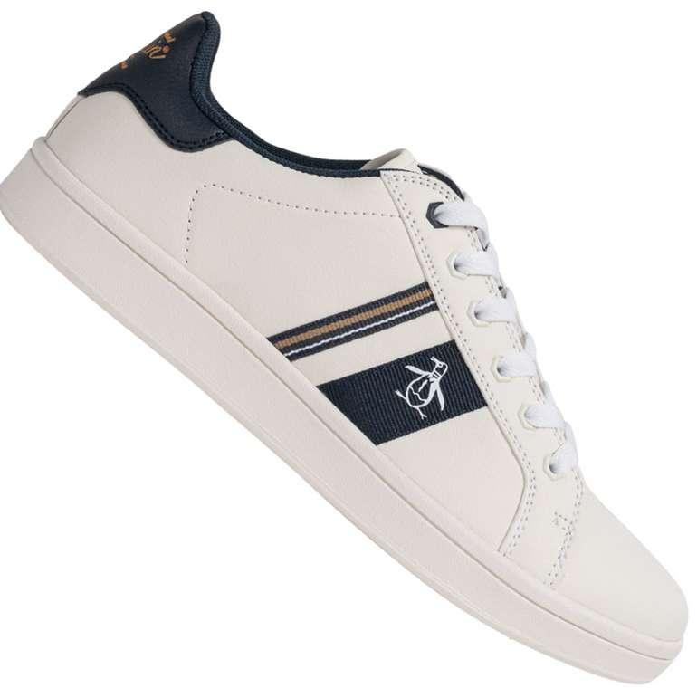 Original Penguin Steadman Retro Herren Sneaker (Weiß oder Schwarz) für 27,94€inkl. Versand (statt 40€)