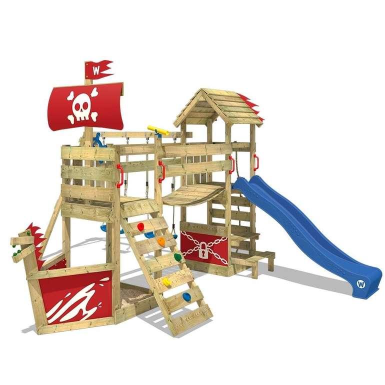 Wickey Spielturm GhostFlyer mit Wackelbrücke und Rutsche für 839,95€ inkl. Versand (statt 950€)