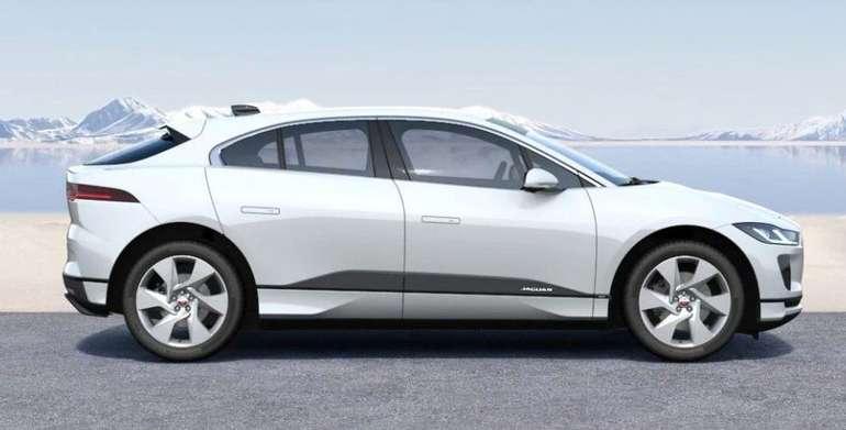 Gewerbe Leasing: Jaguar I-Pace EV320 SE (320 PS) + Jaguar Care für 299€ mtl. (BAFA, ÜF: 999€, LF 0,45)