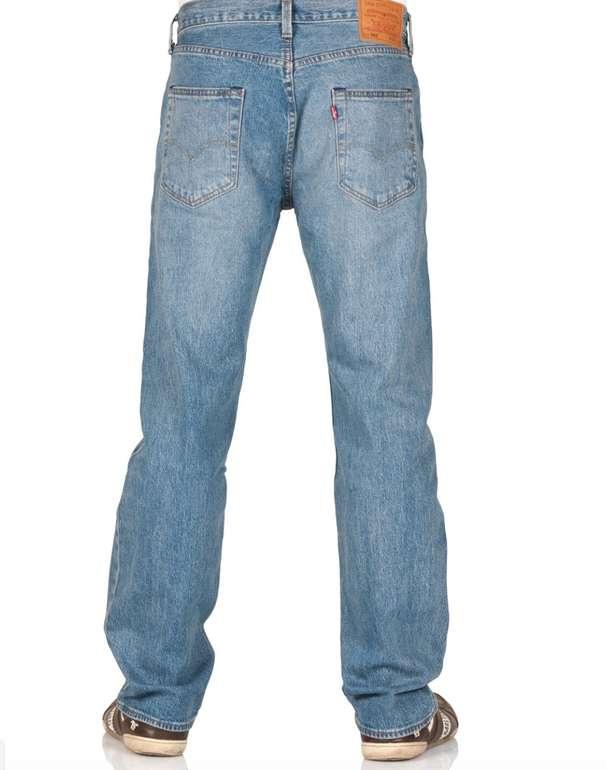 Levis Herren Jeans 501 - Original Fit in Blau / Baywater für 48,96€ (statt 67€)