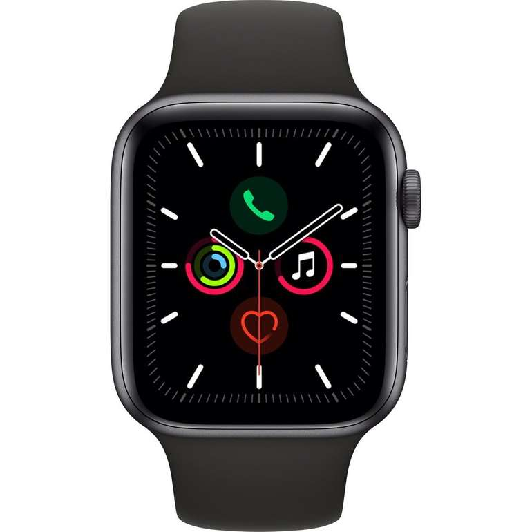 Apple Watch Series 5 Smartwatch (44mm, Sportarmband) für 433,09€ (statt 458€)