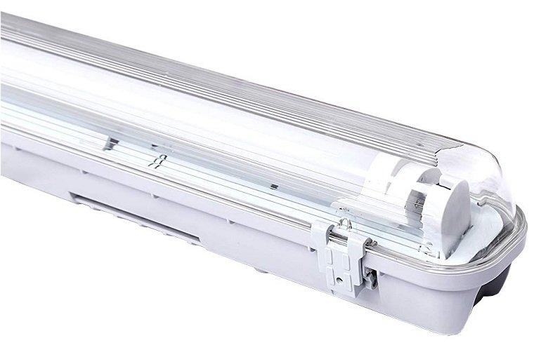 Verschiedene Hengda LED Feuchtraumleuchten reduziert, z.B. 1 x 18 Watt für 18,89€