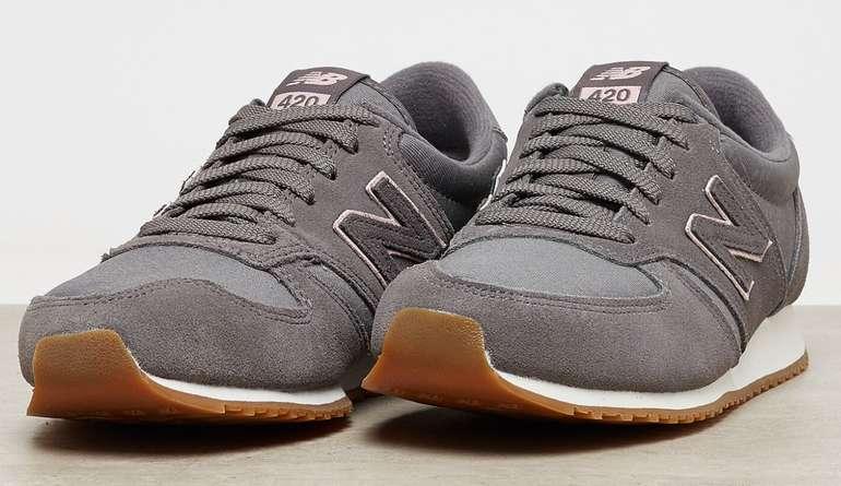 New Balance WL420GPG in grau/pink Damen Sneaker für 44,99€inkl. Versand (statt 50€) - Größe 36 bis 38!