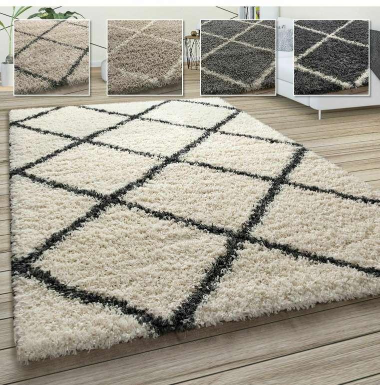 Hochflor Teppich Shaggy im Skandinavischen Stil für 12,99€inkl. Versand (statt 20€)