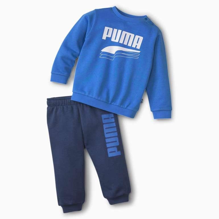 Puma Minicats Rebel Babies Sweatanzug in Blau für 22,36€ inkl. Versand (statt 28€)