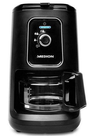 Medion MD 17384 Kaffeemaschine mit Mahlwerk für 34,95€ inkl. Versand (statt 55€)