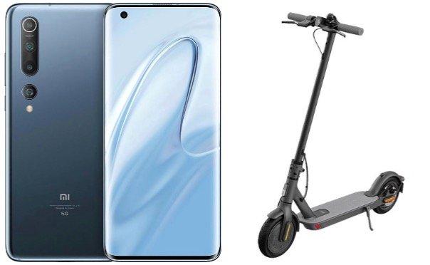 Xiaomi Mi 10 + Mi 1S E-Scooter für 1€ + 15GB LTE für 36,99€ mtl.