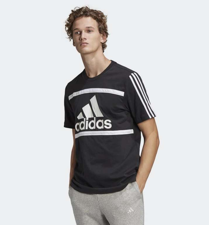 Adidas Essentials Logo Colorblock T-Shirt in 2 Farben für je 12€ (statt 18€) - Creators Club
