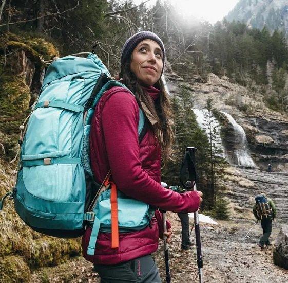 Forclaz EasyFit Damen Trekkingrucksack mit 60Liter für 63,98€