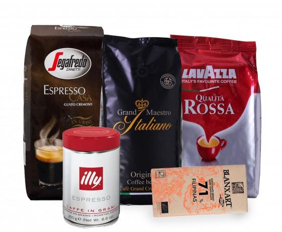 Geschenkpaket Kaffeebohnen (3,25kg) für 46,99€ inkl. Versand
