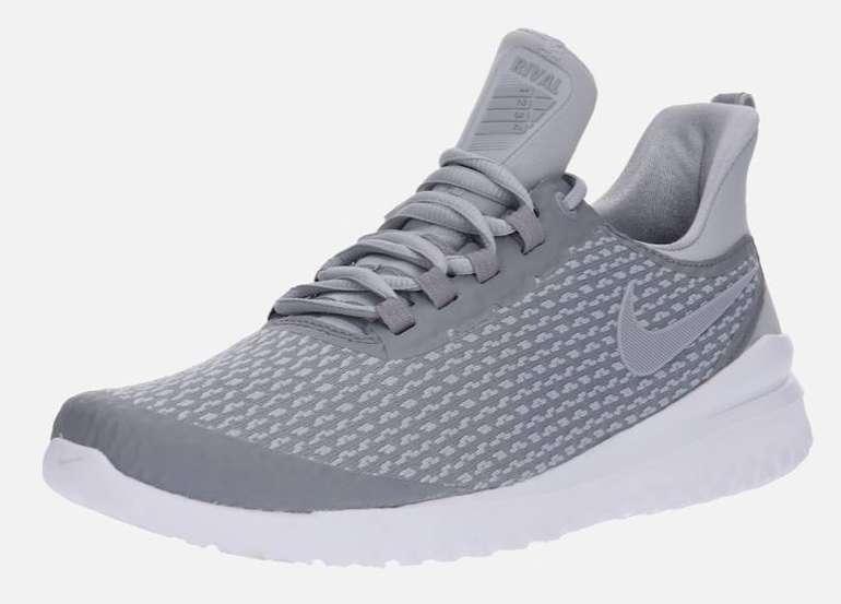 "Nike Herren Sneaker ""Renew Rival"" in grau / weiß (Größen: 43 bis 44,5) ab 38,17€"
