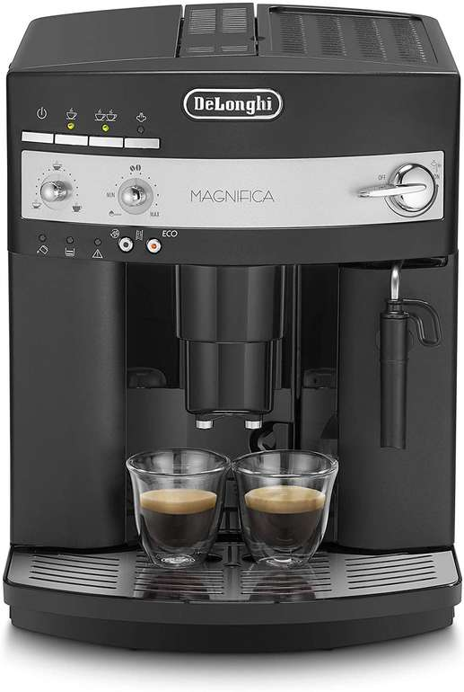 De'Longhi B ESAM 3000 Kaffeevollautomat aus Edelstahl (rostfrei, 1.8 liter, schwarz) für 199€ (statt 248€) - B-Ware