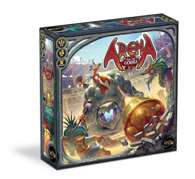 """Iello Brettspiel """"Arena for the Gods"""" für 7,34€ inkl. Versand"""