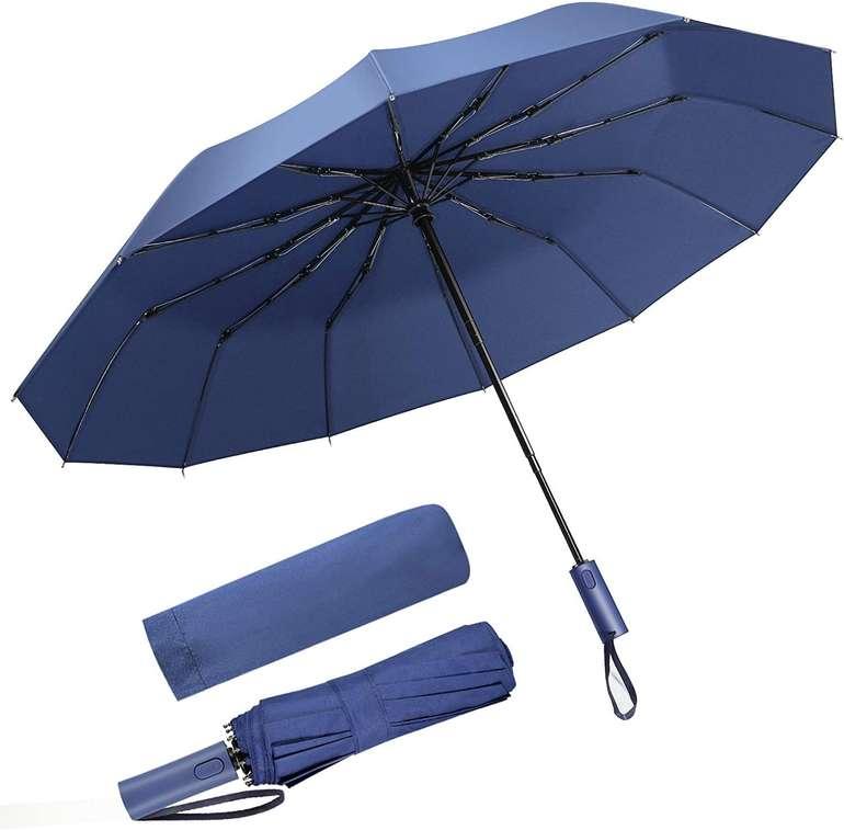 SoataSoa Regenschirm (sturmfest bis 140 km/h) für 7,99€ inkl. Prime Versand (statt 10€)