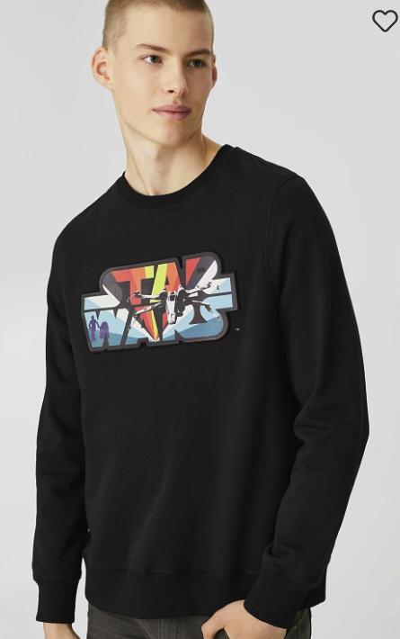 C&A Sale mit bis -70% Rabatt + Keine Versandkosten! - z.B. Herren Sweatshirt - Star Wars für 15,99€ inkl. Versand (statt 20€)
