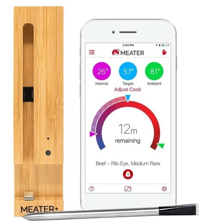 MEATER+ Drahtloses Kochthermometer für 94,89€ inkl. Versand (statt 104€)