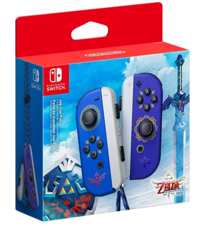Nintendo Switch Joy-Con (2er-Set) - Zelda Skyward Sword HD Edition für 62,99€ inkl. Versand (statt 78€)