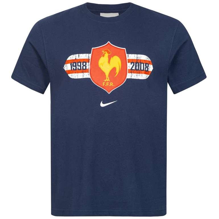 SportSpar: Nike Family Sale + VSKfrei - z.B. Nike Frankreich FFR Nike Herren Rugby T-Shirt für 5,99€