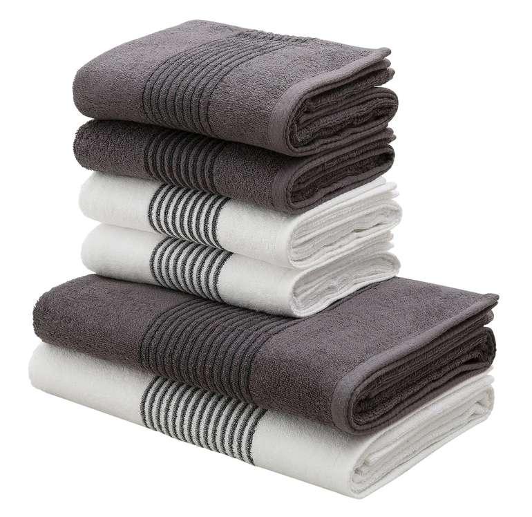 Bruno Banani 6-teiliges Handtuch Set 'Jassen' für 29,74€ inkl. Versand (statt 41€)