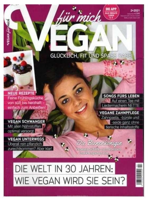 Vegan für mich: 4 Ausgaben (6 Monate) für effektiv 6,60€ (statt 22€)