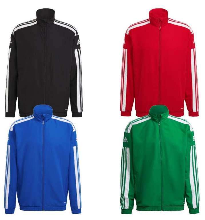 Adidas Trainingsjacke Squadra 21 in 4 verschiedenen Farben für 24,95€ inkl. Versand (statt 29€)